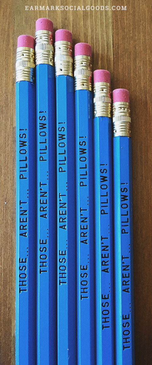"Awesome Pencils from an awesome movie, ""Planes, Trains and Automobiles"""