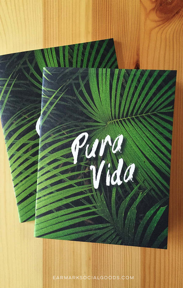 The perfect notebook to take on a Costa Rican adventure!
