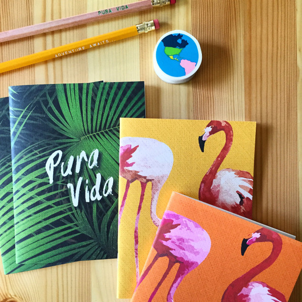 LOVE these new Tropicale notebooks!