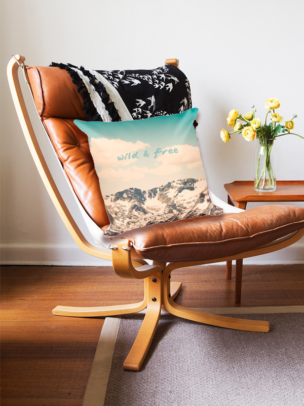 Wonderful pillow to spruce up any space.