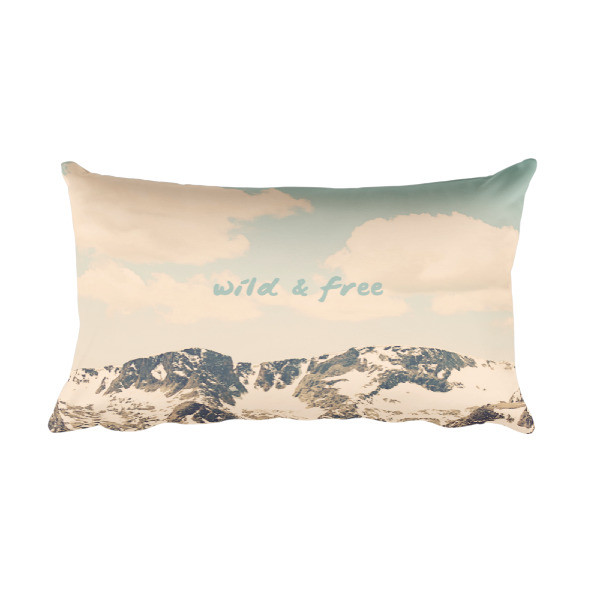 Wild and Free Meditation Pillow