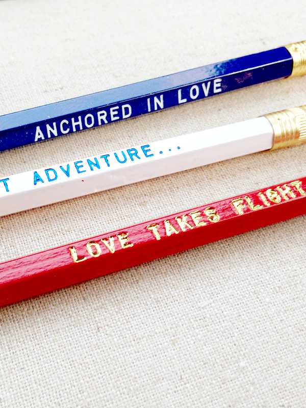 A Lovely Adventure Pencil 6 Pack