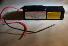 A 2x2x2 14.8v 5200mAh pack with 20AWG leads