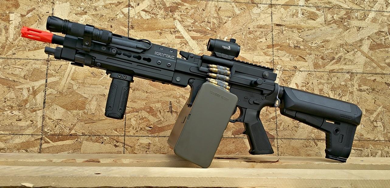 Krytac Enhanced LMG Airsoft Gun Review - Fox Airsoft LLC