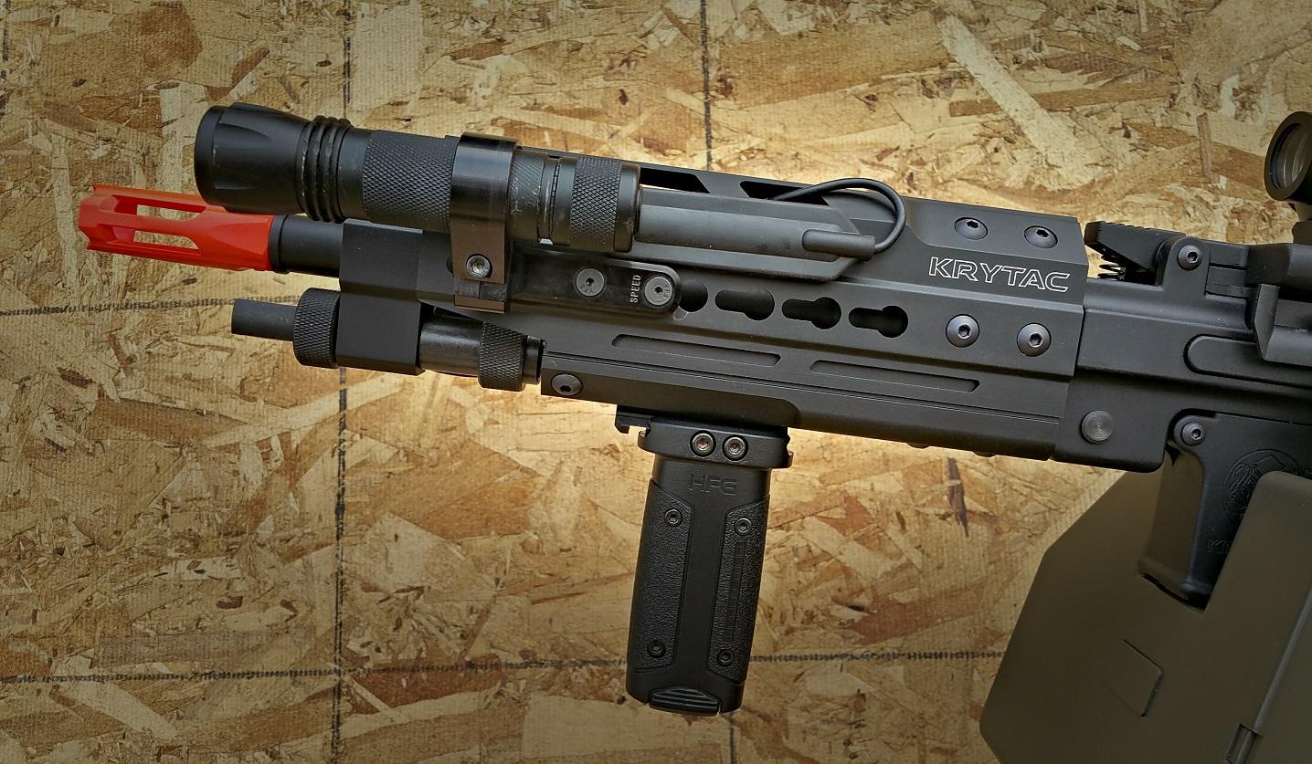 Big Rigs For Sale >> Krytac Enhanced LMG Airsoft Gun Review - Fox Airsoft LLC