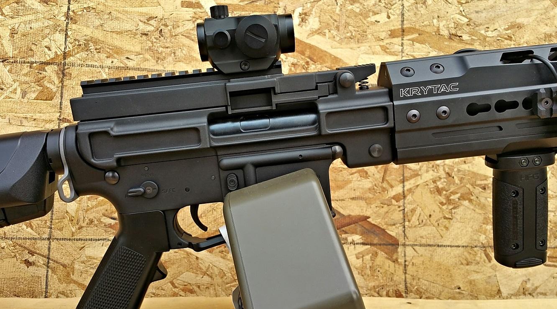 Krytac Enhanced Lmg Airsoft Gun Review Fox Airsoft Llc