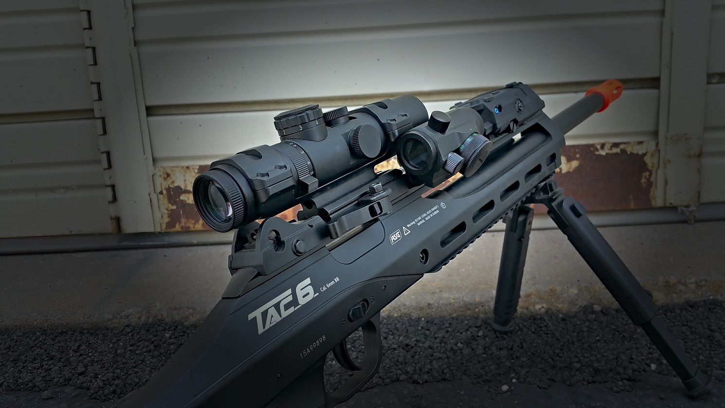 Asg Tac 6 Airsoft Sniper Rifle Review Hop Up Version