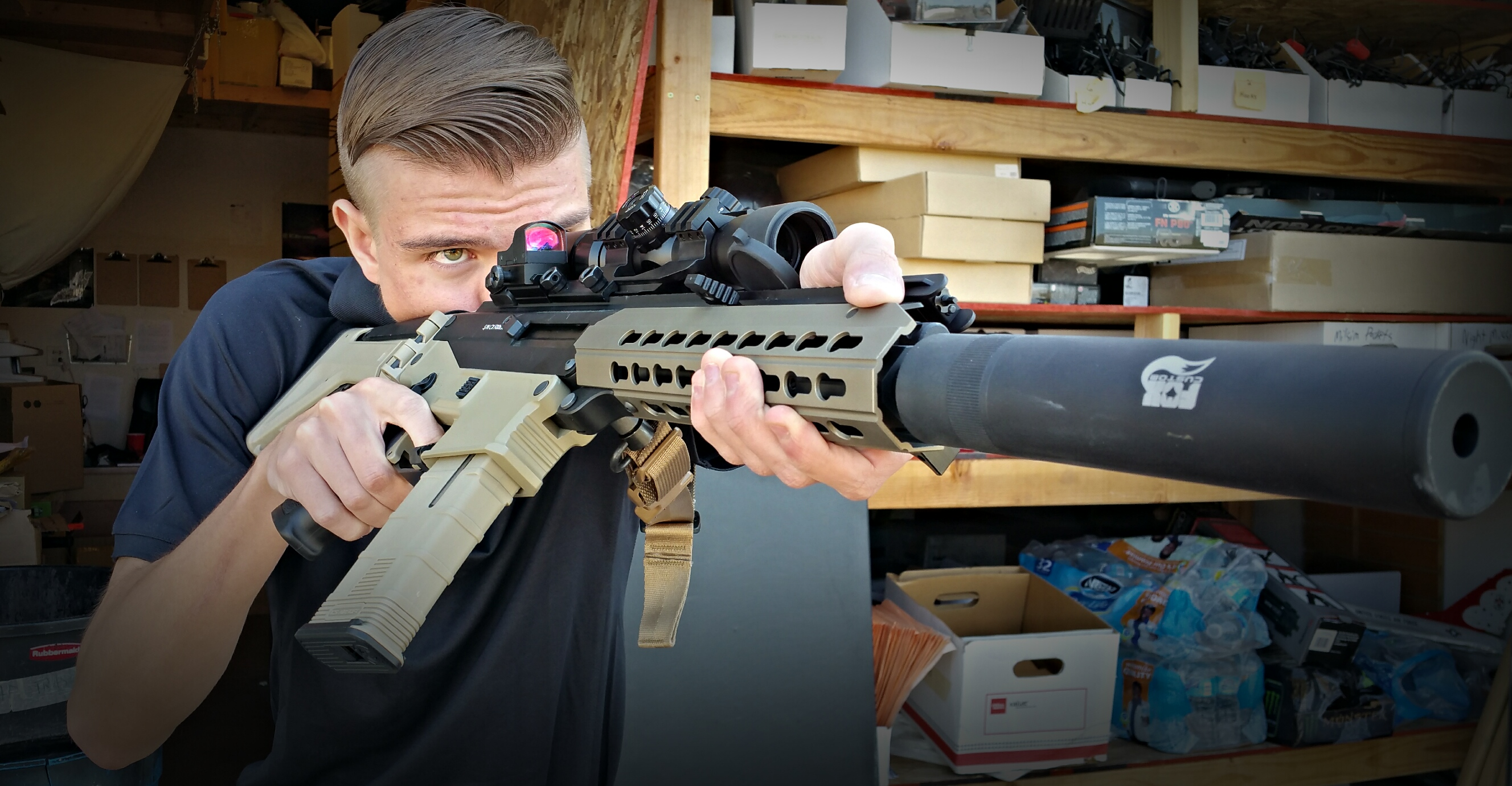 Ics Cxp Ape Airsoft Gun Review Fox Airsoft Llc