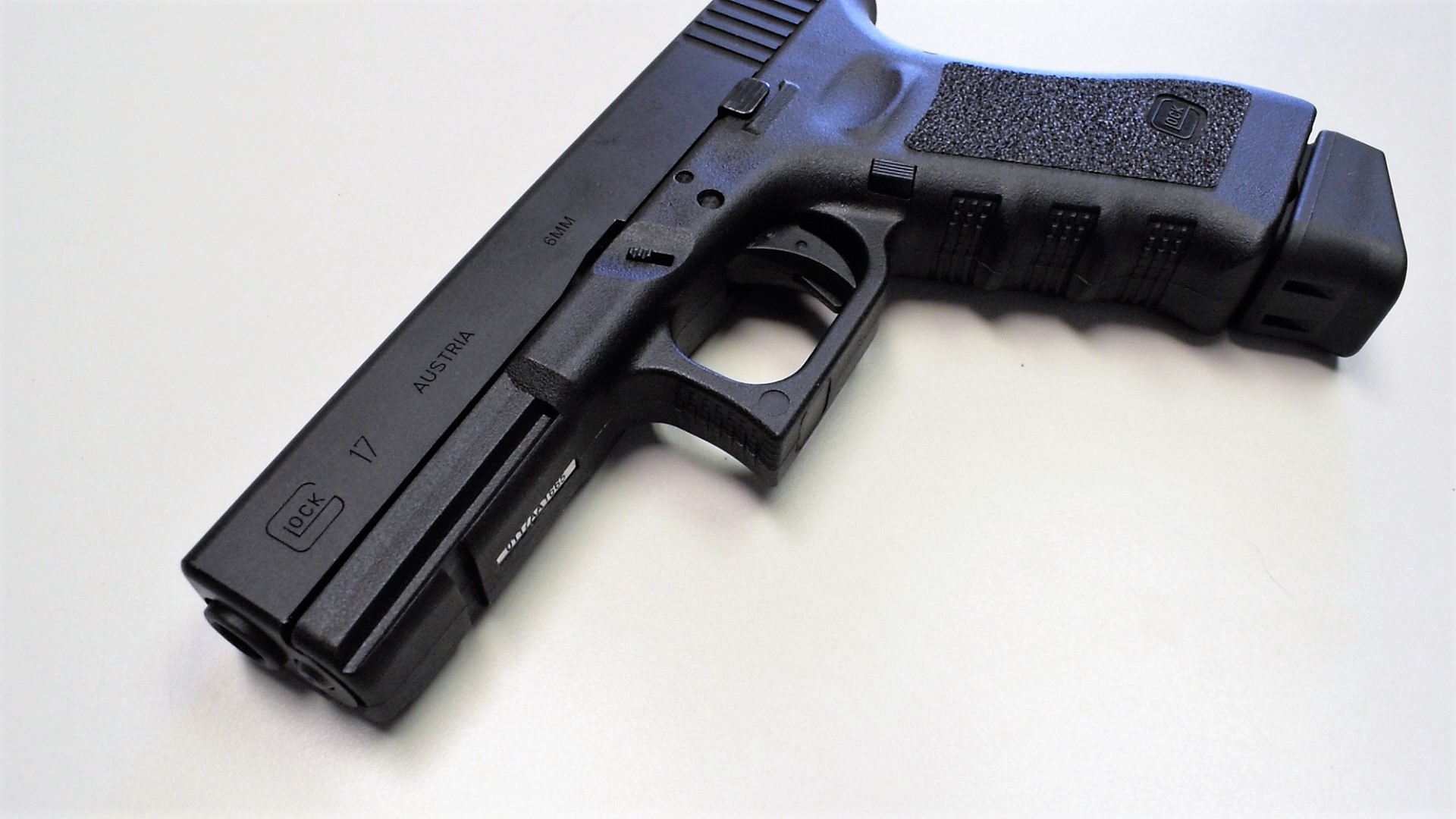 Glock Officially Licensed Airsoft Training Pistols Fox Air Soft Gun For With Your Department And It Is Going To Fit Standard 17 Holsters Which Really Nice In Terms Of Powering The Pistol
