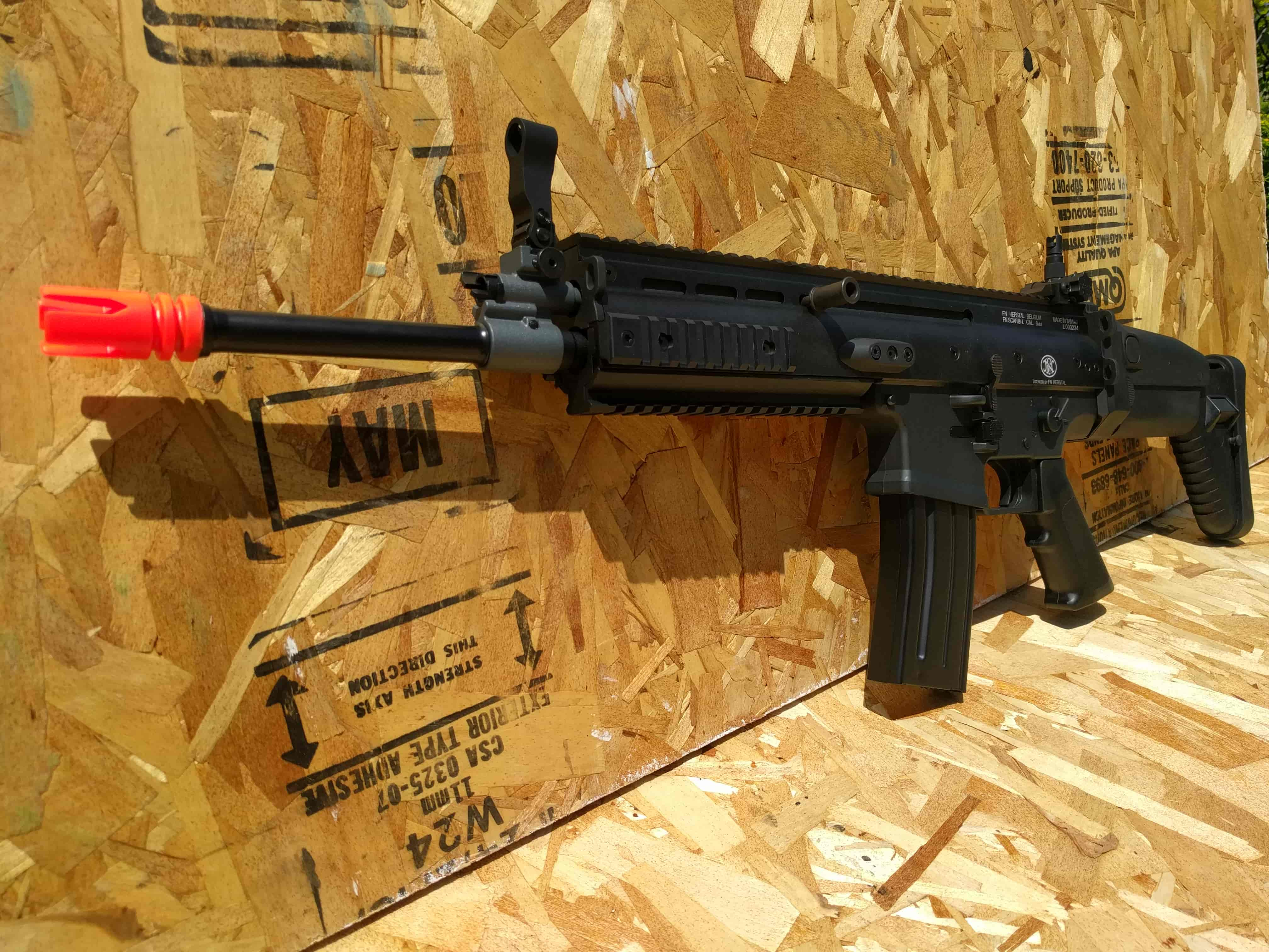 Vfc Scar L Airsoft Gun Review Fox Airsoft Llc