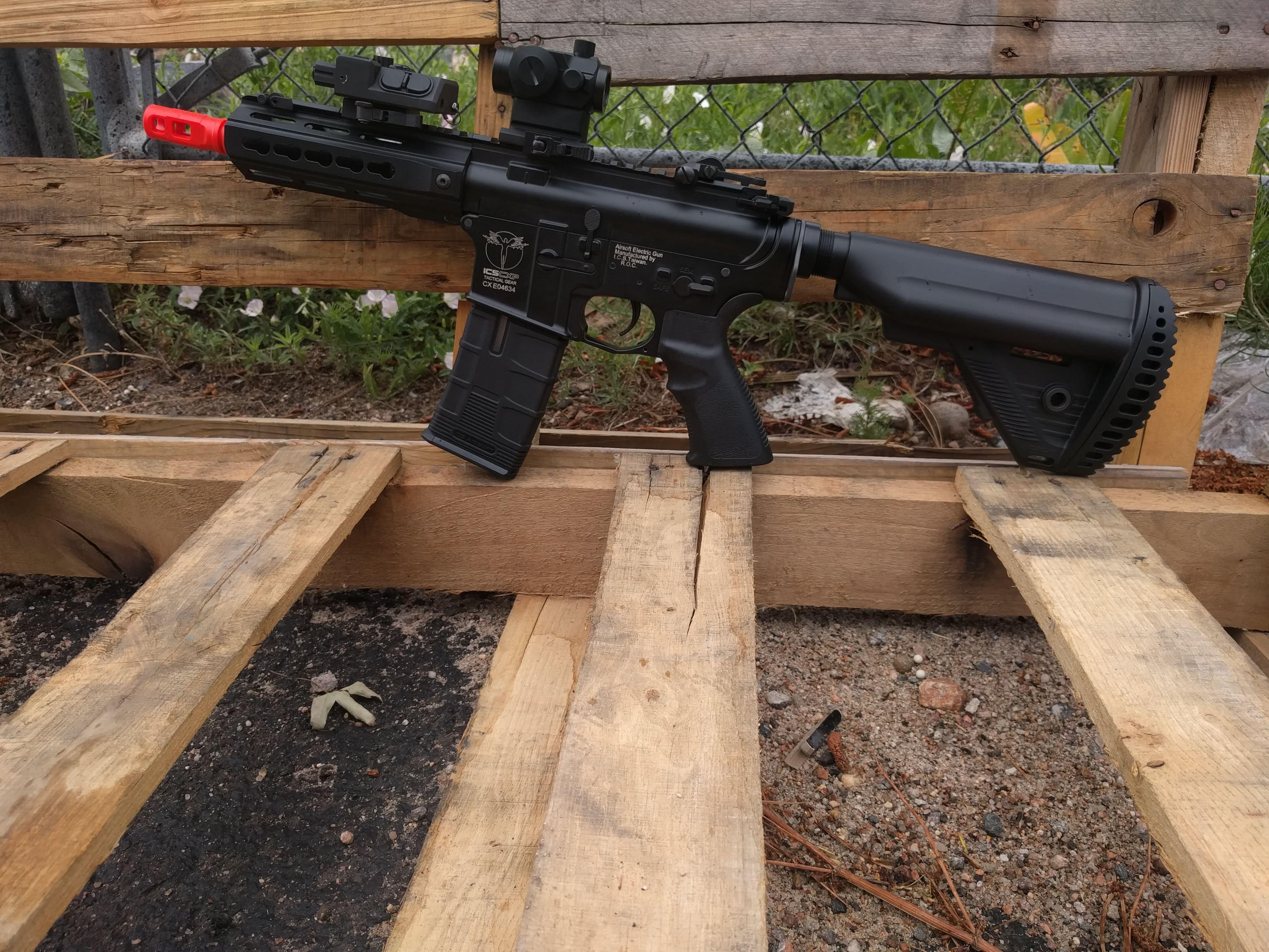 ICS SPR/CQB Airsoft Gun Combo - Fox Airsoft LLC