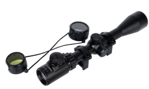 Lancer Tactical 3-9x40 Illuminated Scope