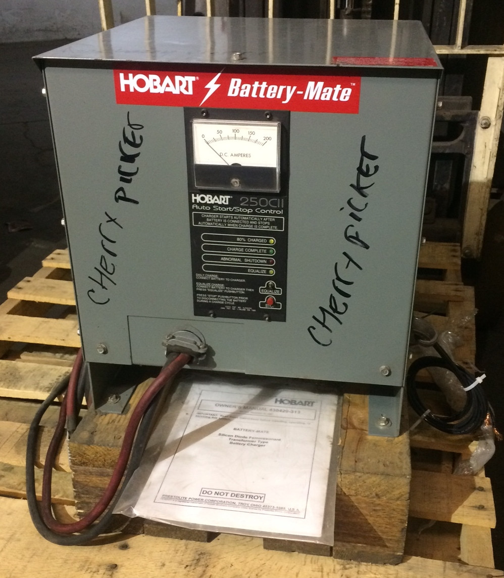 Hobart Battery-Mate Model 510M1-12C Battery Charger with Owner's Manual