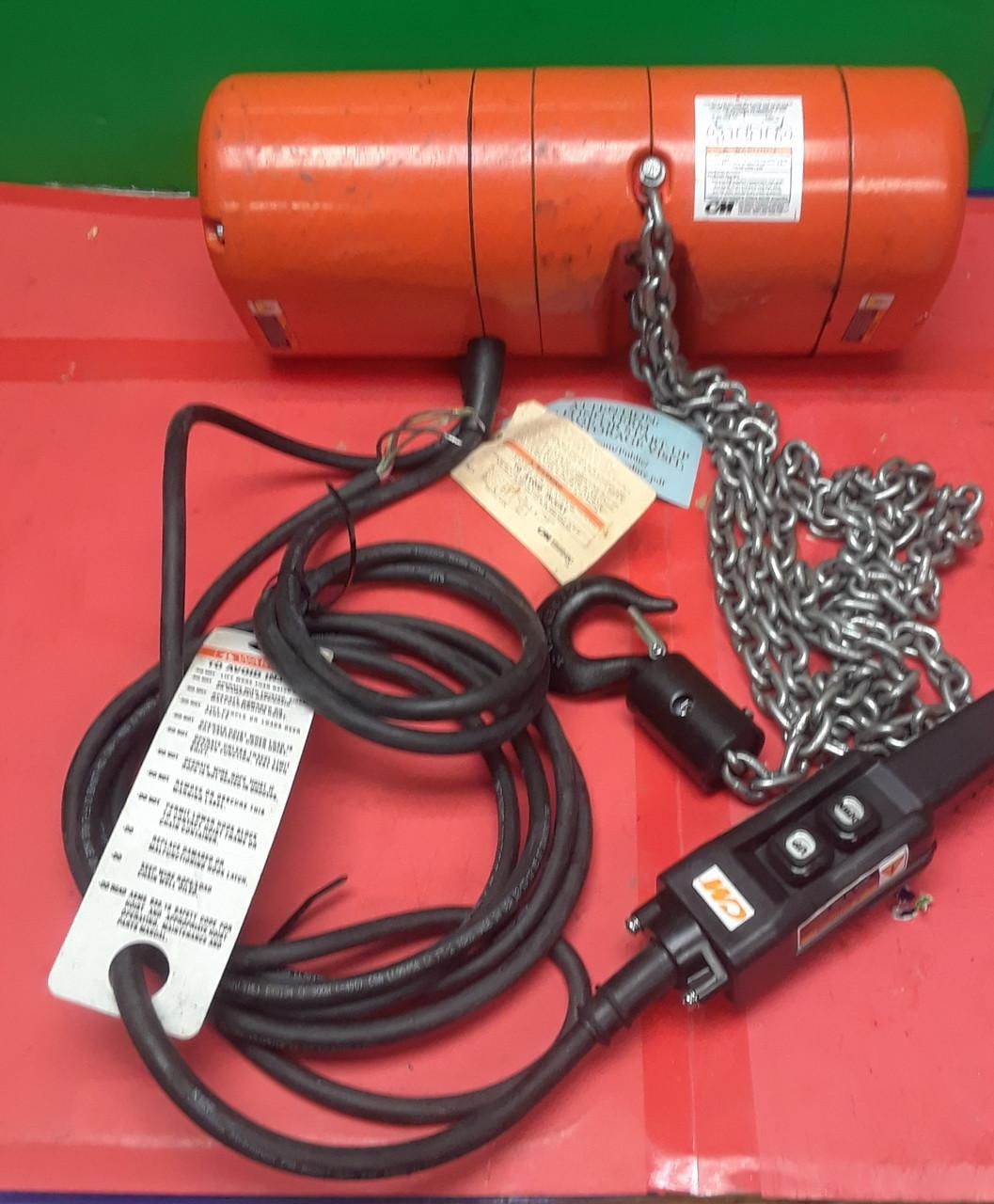 Cm Electric Chain Hoist Wiring Diagram Electric Hoist Wiring