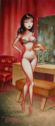 Weesner Vamp Signed Poster Image