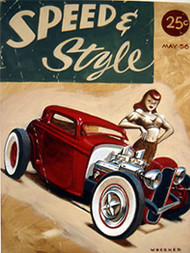 Weesner Speed & Style Signed Art Print Image