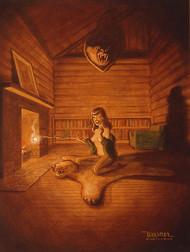 Weesner Toasty Signed Art Print Image