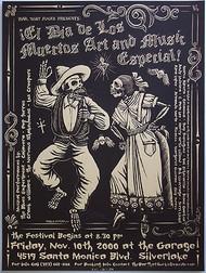 Almera Muertos Silkscreen Concert Poster Image