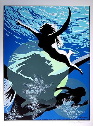 Almera Surface Signed Silkscreen Art Print Image