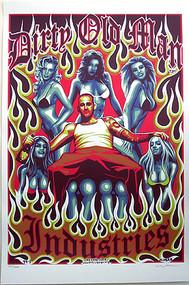 Almera D.O.M. Signed Silkscreen Promotional Poster Image