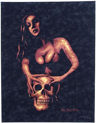 Almera Taboo Silkscreen Art Print Image