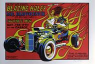 Almera Blazing Haley Silkscreen Concert Poster Image