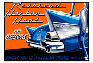 Almera Reverend Horton Heat Silkscreen Concert Poster 2000 Image