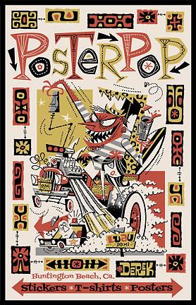 Derek Yaniger Poster Pop Silkscreen Promotional Poster Image
