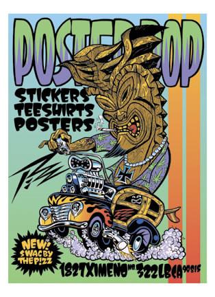 Poster Pop Silkscreen Pizz Promotional Poster Image