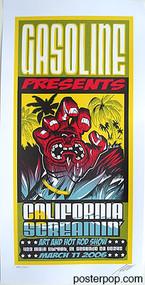 Pizz California Screamin Art Show Silkscreen Poster 2006 Image