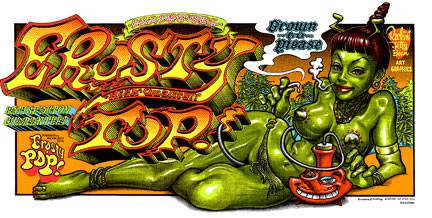Rockin JellyBean Erosty Top Silkscreen Poster Image