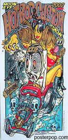 RJB Mooneyes Japan 2002 Silkscreen Poster Image