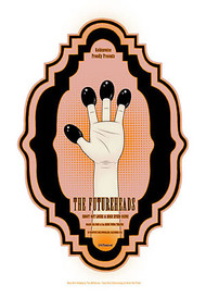 Tara McPherson Futureheads Silkscreen Concert Poster 2005 Image