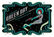 Tara McPherson Greenday Silkscreen Concert Poster 2005 Image