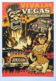 Vince Ray Viva Las Vegas #11 Silkscreen Poster 2008 Image
