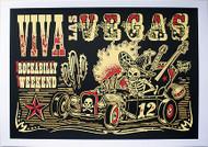 Vince Ray Viva Las Vegas #12 Silkscreen Poster 2009 Image
