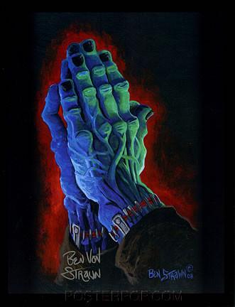 Ben Von Strawn Belong Deads Hand Signed 8-1/2 x 11' Print Image