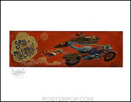 Candy Sons of Mularky Hand Signed Artist Print  8-1/2 x 11