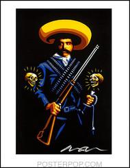 Almera Zapata Hand Signed Artist Print  8-1/2 x 11 Image