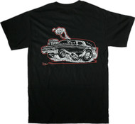 RK32 Kruse Hot Rod Hearse T Shirt