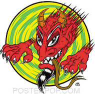 Forbes Dragon Devil Sticker Image