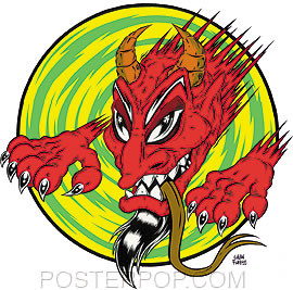 Forbes Dragon Devil Sticker Image