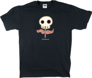 TM12 McPherson Sugar Skull Flower T Shirt