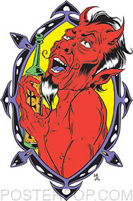 Forbes Drinkin Devil Sticker