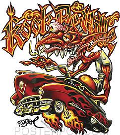 BigToe Kook Deville Sticker image