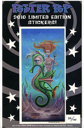 Aaron Marshall LTD 2010 Sticker Image