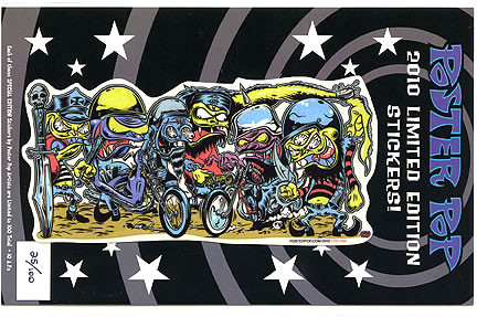 Dirty Donny LTD 2010 Sticker Image