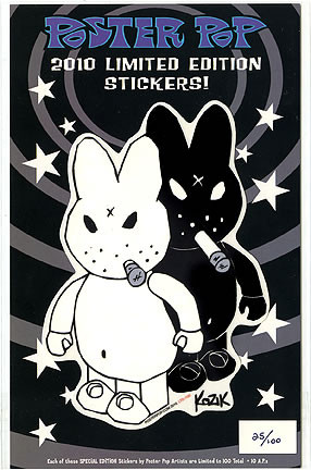 Kozik LTD 2010 Sticker Image