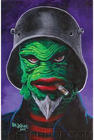 Von Strawn The Creatcha Sticker Image