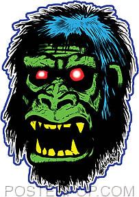 Von Strawn Gorilla Sticker Image